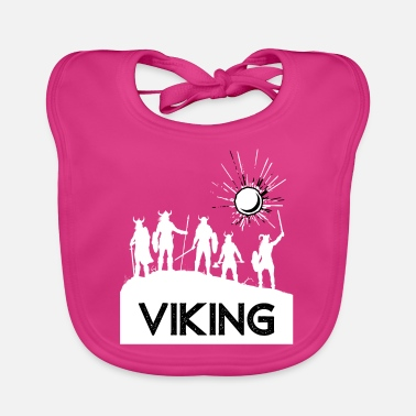 Viking, Viking, man, one, Nordic - Baby Bib
