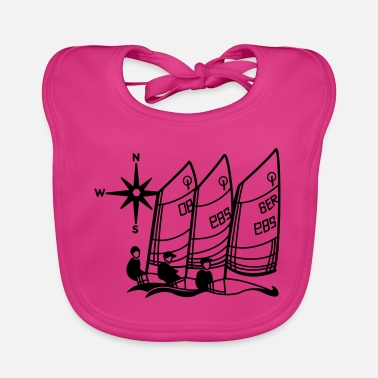 Optimist Sailing Optimist regatta - Baby Bib