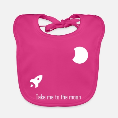 Take me to the moon - Baby Bib