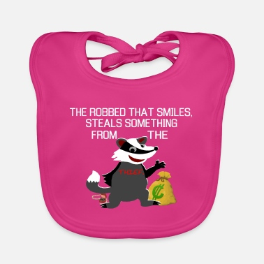 Thief Honey badger honey badger thief Thief - Baby Bib