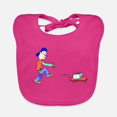 Guys Night Out My toaster - Baby Bib