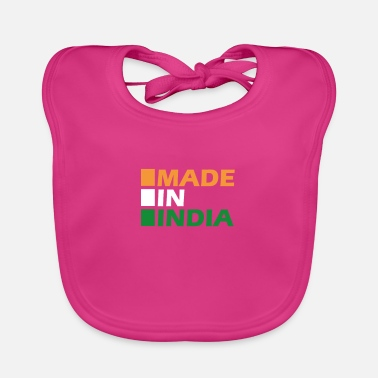 Made in India - Baby Bib