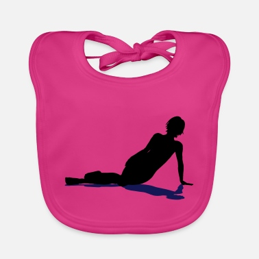 Isolated Resting On The Floor Isol - Baby Bib