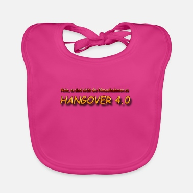 Guys Night Out Hangover 4.0 - Baby Bib
