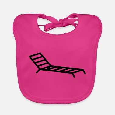 Recreational Deck chair holiday recreation - Baby Bib