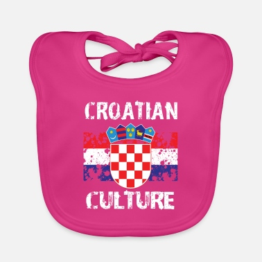 Croatian Culture - Baby Bib