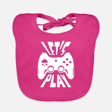 Console Consoles player - Baby Bib