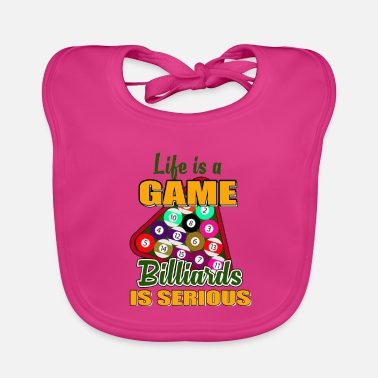 Billiards Training Billiards Pool Bar Snooker Sport Hobby Gift - Baby Bib