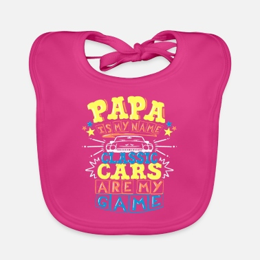 Classic Cars Classic car car lovers - Baby Bib