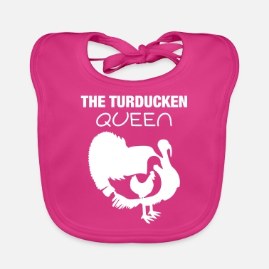 Nom Turducken Queen Thanksgiving Hostess Gift graphic - Bavoir Bébé