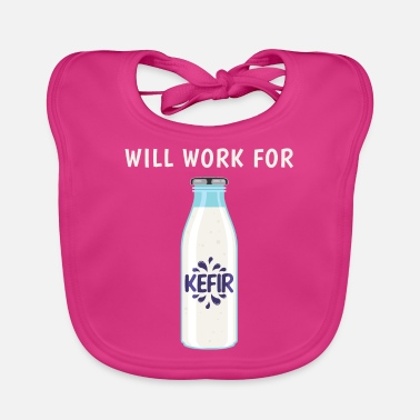 Grain Funny Fermented Drink Will Work For Kefir product - Baby Bib