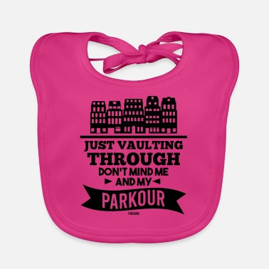 Present Parcour obstacle freerun fitness - Baby Bib