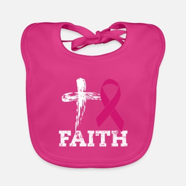 Breast Cancer Awareness Breast cancer aware month - Baby Bib