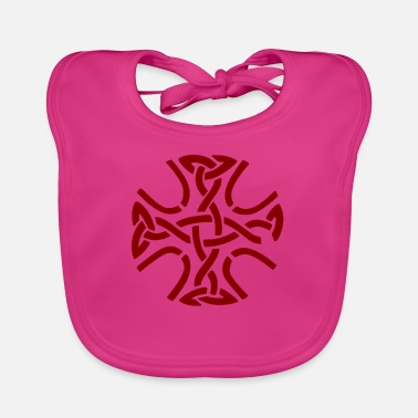 Celtic Celtic cross - Baby Bib