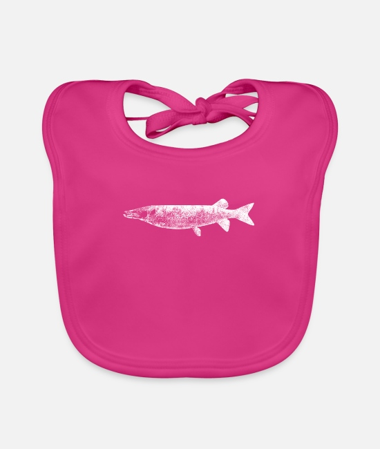 Farming Baby Clothes - farm - Baby Bib fuchsia