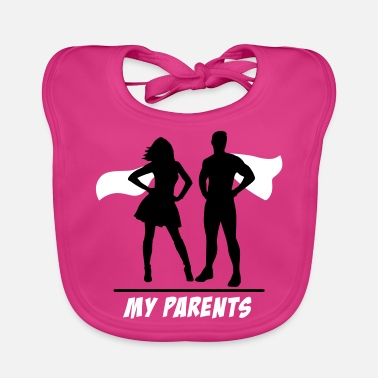 Parents Your parents-my parents your parents-my parents - Baby Bib