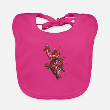 Cool Cupid's Arms - Baby Bib