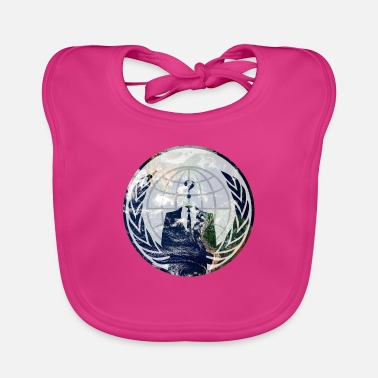 Wide World Wide - Baby Bib