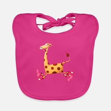 Comics Giraffe comic children comics - Baby Bib