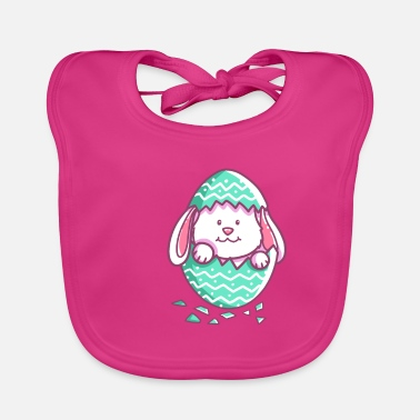 Easter - Happy Easter - Easter Bunny - Easter egg - Baby Bib
