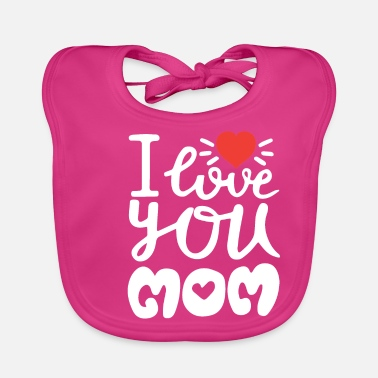 Mother Mother's Day, Mothers day, love, present - Baby Bib