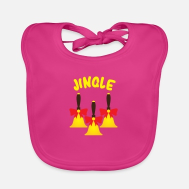 Bell Jingle Bells bells - Baby Bib