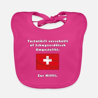 Swiss German Swiss German - Baby Bib