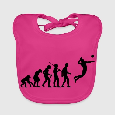 volleyball evolution - Baby Organic Bib