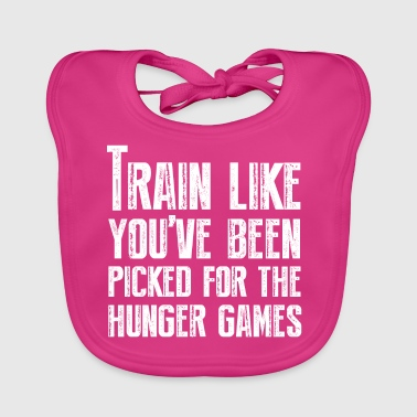 Train for the Hunger Games - Baby Organic Bib