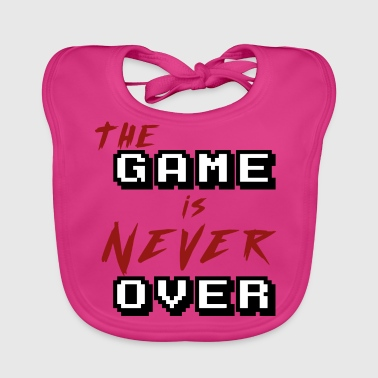The game is never over - Baby Organic Bib