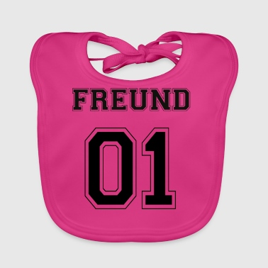 Friend - Black Edition - Baby Organic Bib