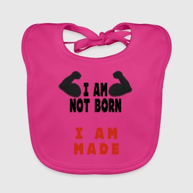 Am Not Born - Baby Organic Bib