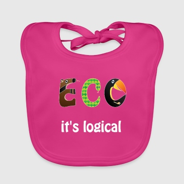ECO it's logical - Baby Organic Bib
