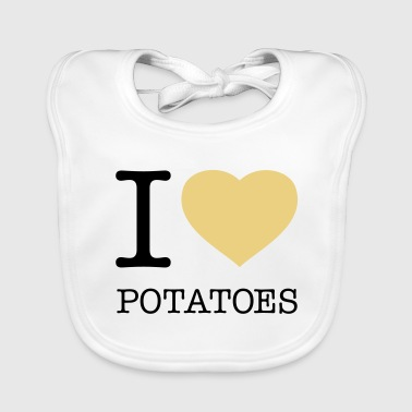 I ♥ POTATOES - Baby Organic Bib
