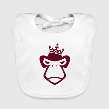 King of Apes - Baby Organic Bib
