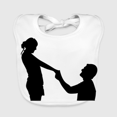 proposal of marriage - Baby Organic Bib