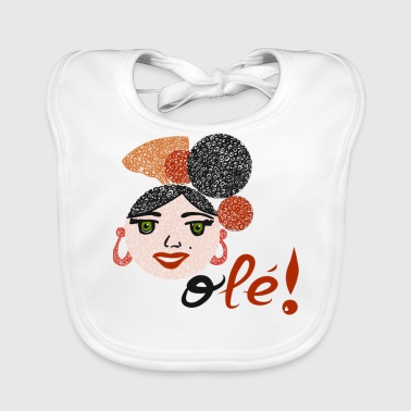 Flamenco and OLEE !! - Baby Organic Bib