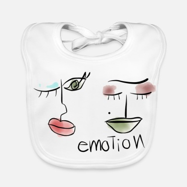 Emotion Emotionen - Lätzchen