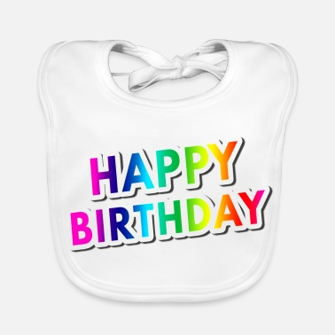 birthday - Baby Bib