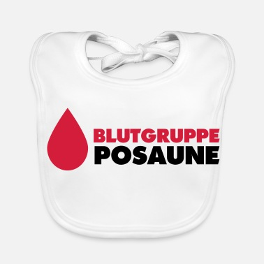 Blood Group Blood group Trumpet - Baby Bib
