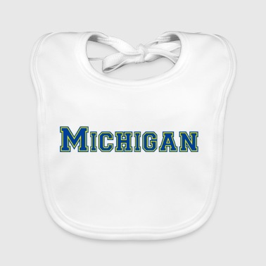 Pedir en línea Michigan Babero bebé | Spreadshirt