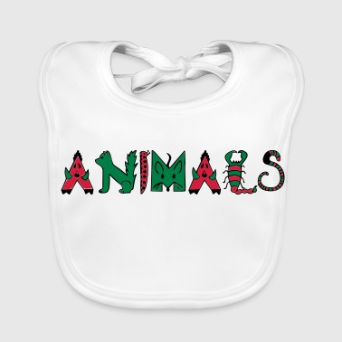 Animation Animals - Animals - Baby Organic Bib