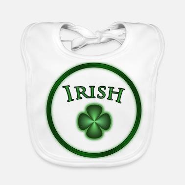 Ordina online Bavaglino neonato con tema Irlandese  0460e68e11b