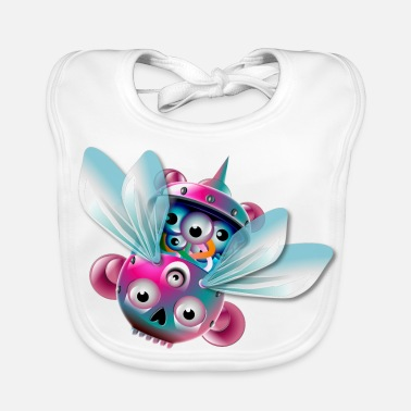 Fly The Fly - Baby Organic Bib