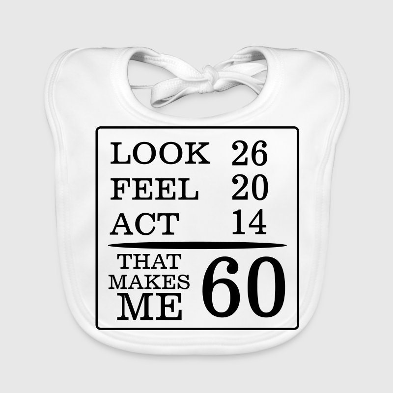 IT HAS TO LOOK 60 YEARS LASTED, SO GOOD! - Baby Organic Bib