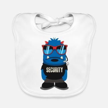 Lunettes De Sécurité Monstres de sécurité et de sécurité avec des lunettes  fraîches - Bavoir bio. Bavoir Bébé 0c056b8d9b64