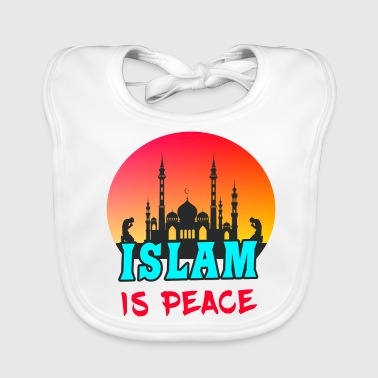 Islam is peace / Islam is peace - Baby Organic Bib