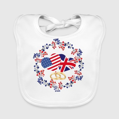 Royal Wedding May 2018 - Baby Organic Bib