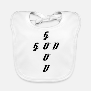 Christian Clothing GOOD GOD CHRISTIAN CLOTHING GOOD GOD GIFT - Baby Organic Bib