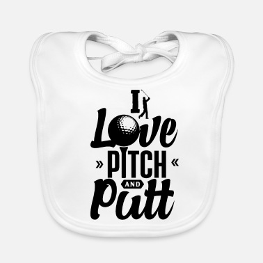 Pitch Pitch and Putt Pitch and Putt Pitch and Putt - Baby Bib
